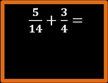 Addizine tra frazioni con lo stesso denominatore