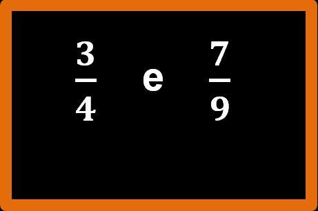 Confronto tra frazioni: esempio 2