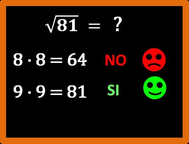 Come calcolare la radice quadrata