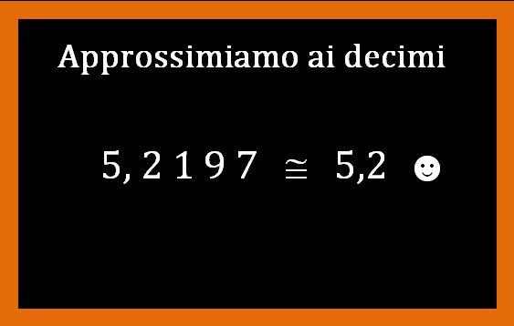 Come si approssimano i numeri decimali