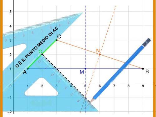 Come si disegna l'asse di un segmento