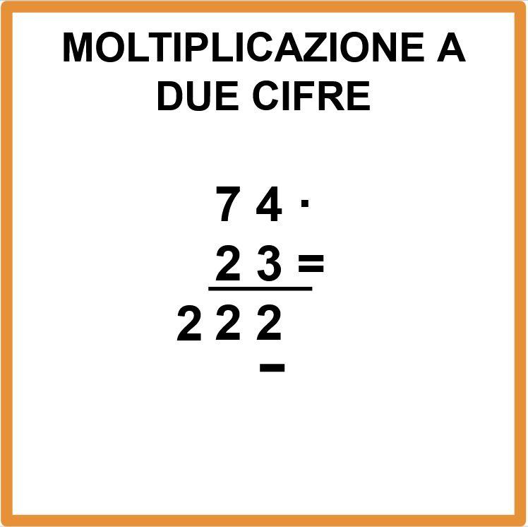 Moltiplicazione con riporto